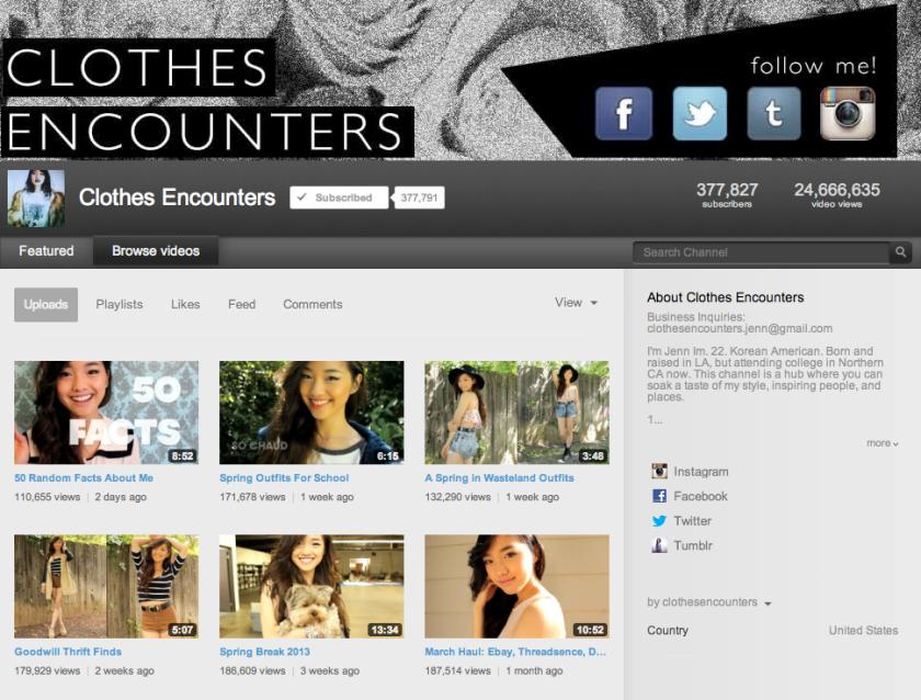 Clothes Encounters