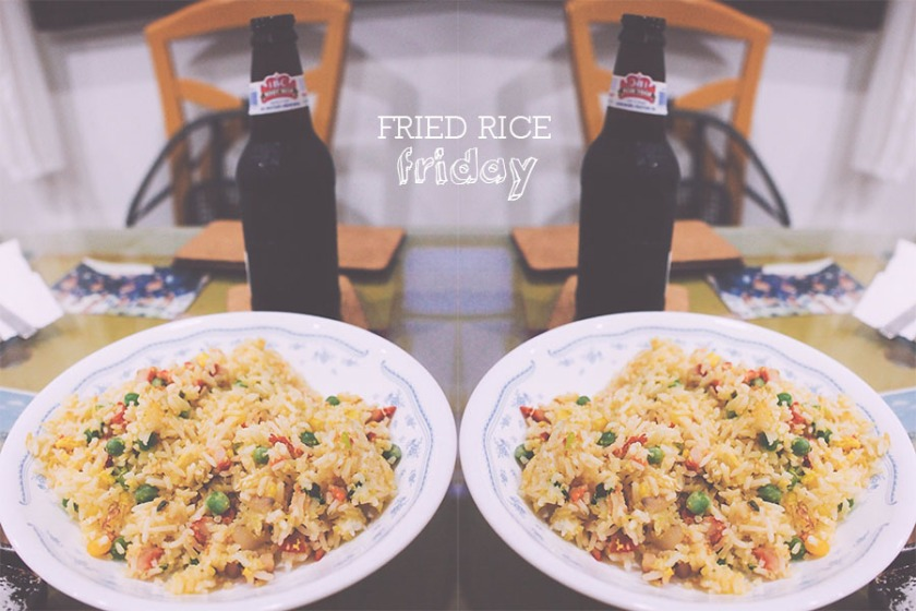 fried rice friday