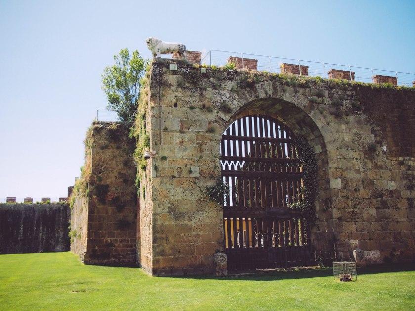 cemetery walls