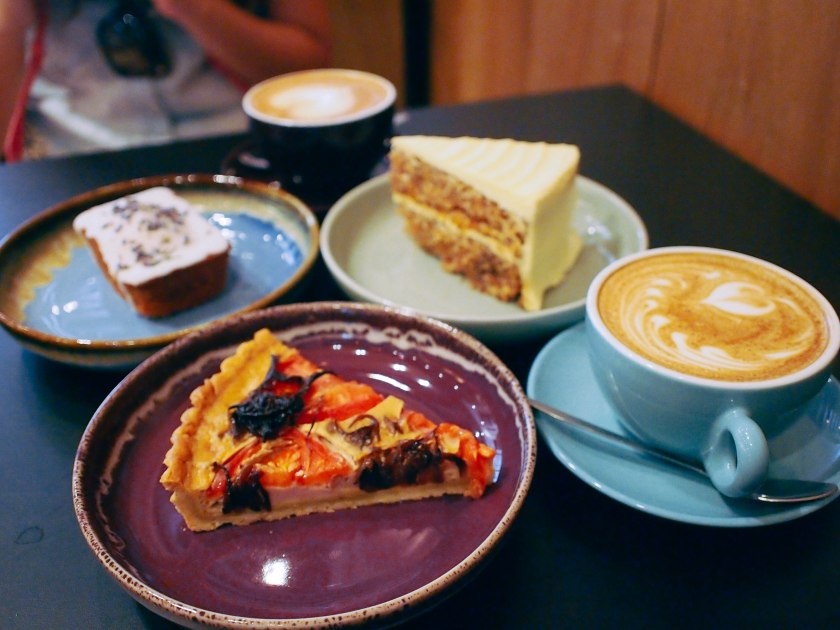 cakes and quiche