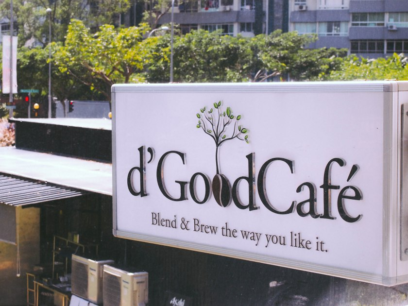 d'good cafe sign