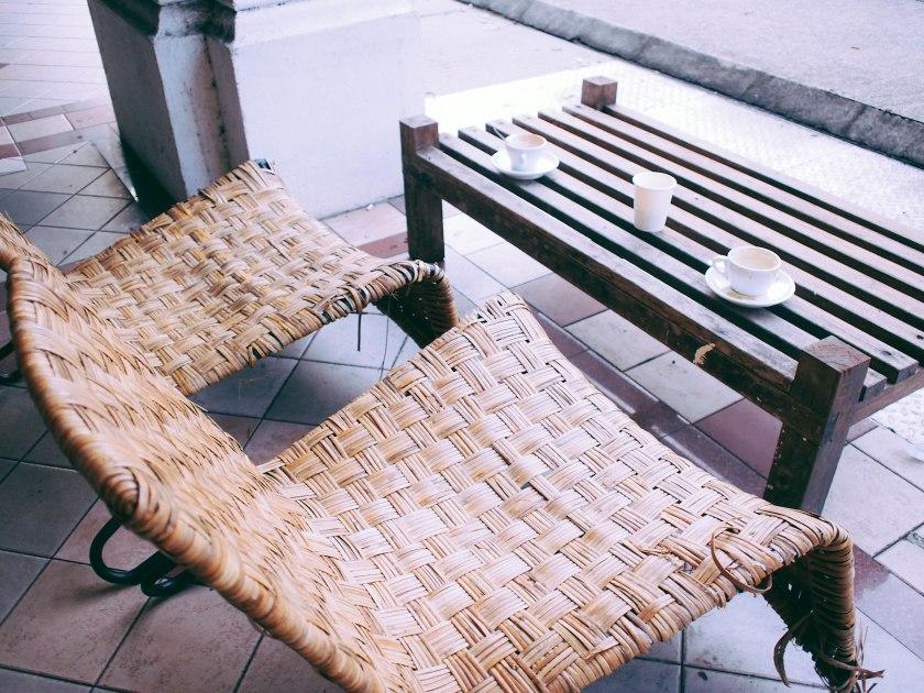 outdoor seats