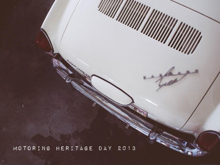 motoring heritage day 2013