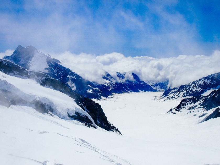 jungfraujoch view