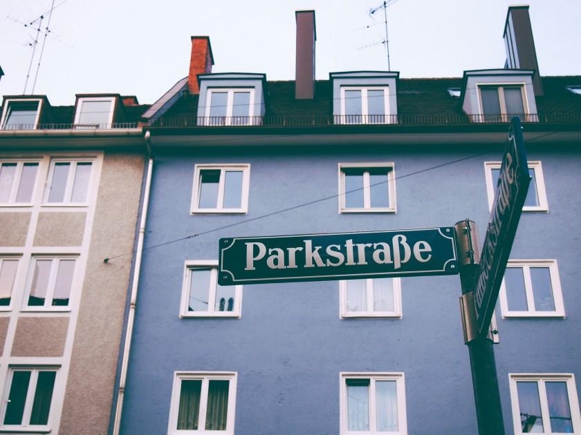 munich-street-sign
