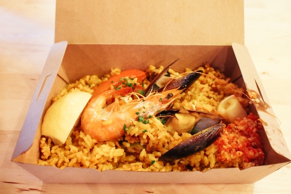 seafood paella takeaway le patio