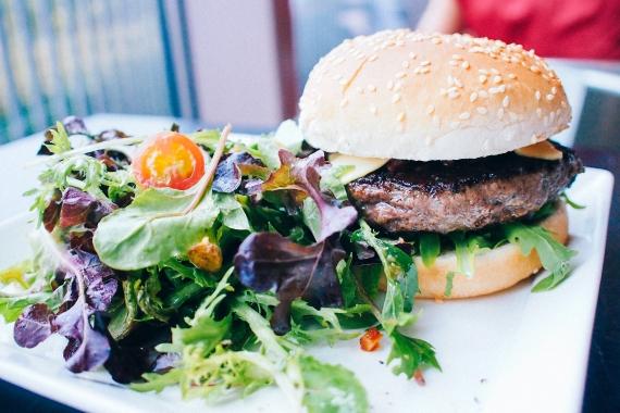 wild rocket burger