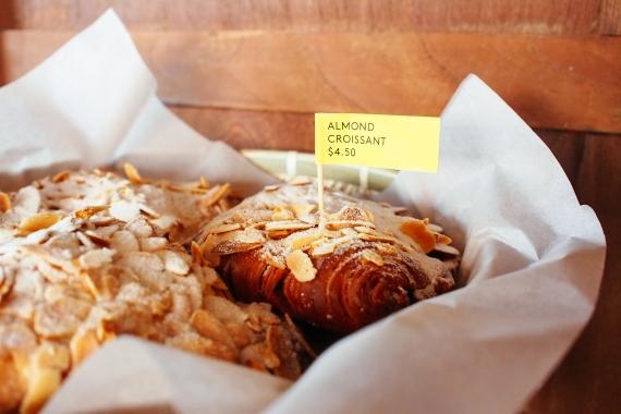 bao almond croissant