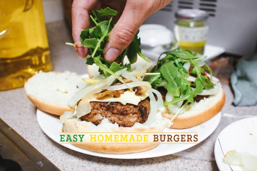 easy homemade burgers blog post