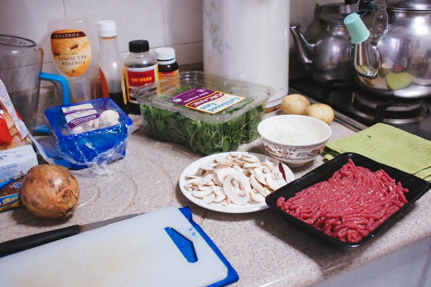 prepare ingredients