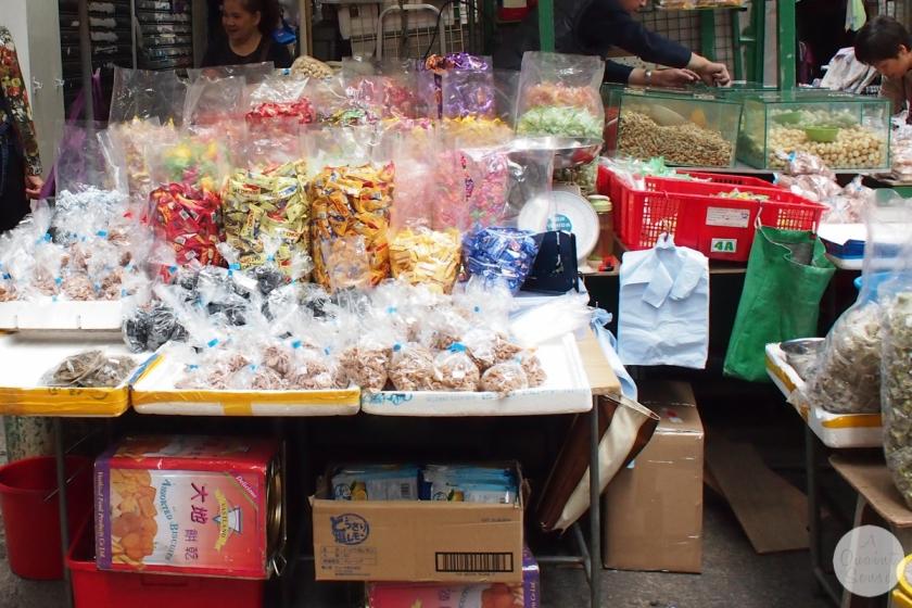 hong kong street stall
