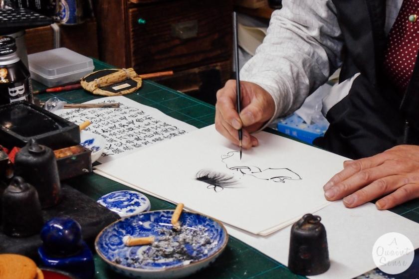 fukuoka-shopkeeper-painting